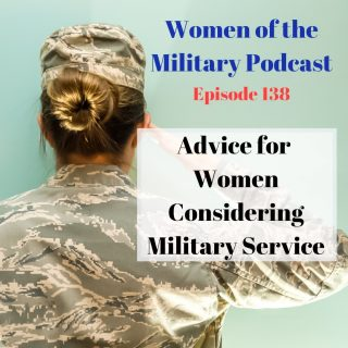 Are you a female that is considering joining the military? If so then I highly recommend you check out this podcast and not just because I provide some of my own advice but because Amber (@airmantomom) does a wonderful job gathering advice from a wide variety of female veterans. ⠀⠀⠀⠀⠀⠀⠀⠀⠀ ⠀⠀⠀⠀⠀⠀⠀⠀⠀ Check out the @women.of.the.military.podcast on your favorite podcast platform.