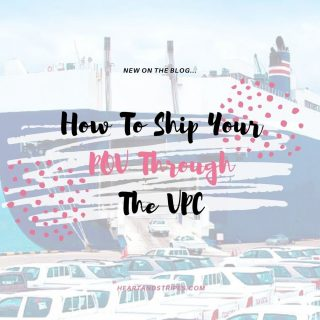 Shipping your POV through the VPC can be extremely overwhelming when you haven't done it before. I am a planner and I am not the military member so I felt left out of the loop and in an extreme unknown. To help all those military spouses out there I wanted to provide a look inside the process and what needs to get done. Go check it out on my blog and feel free to comment with any questions you may have. ⠀⠀⠀⠀⠀⠀⠀⠀⠀ ⠀⠀⠀⠀⠀⠀⠀⠀⠀ PSA: This is my third time going through the VPC process and our vehicle has now arrived to the port here. While I am not an expert, I am very familiar with the process. We have used 3 different VPC's as well so I know they are all ran pretty much the exact same way. ⠀⠀⠀⠀⠀⠀⠀⠀⠀ ⠀⠀⠀⠀⠀⠀⠀⠀⠀ Hopefully it's helpful for all of you going through this experience for the first time or even those who haven't done it in many years. ⠀⠀⠀⠀⠀⠀⠀⠀⠀ ⠀⠀⠀⠀⠀⠀⠀⠀⠀ #militaryspouse #military #milspouse #milspo #militaryfamily #militarylife #militarymarriage #army #armywife #navy #navywife #airforce #airforcewife #marinecorps #marinecorpswife #armyspouse #navyspouse #airforcespouse #marinecorpspouse #heartandstripes