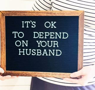 I found this picture online recently and saved it to my phone. (Sorry I can't give credit to who it belongs to as I just saved the photo.) It was so important to me that I save it and share with with you all because I feel like these days people make it seem like you should never depend on your spouse. ⠀⠀⠀⠀⠀⠀⠀⠀⠀ ⠀⠀⠀⠀⠀⠀⠀⠀⠀ As military families, we are often extremely far from all of our families. We only have our spouse and the network of people we make at our current duty location. We rely, or dare I say depend, on our spouse. ⠀⠀⠀⠀⠀⠀⠀⠀⠀ ⠀⠀⠀⠀⠀⠀⠀⠀⠀ For me, I have always depended on my husband. He is my best friend. He is my rock on the hard days and he is my biggest supporter with any new adventure I start. However, I couldn't do any of this without my husband. When I have to step up my business game then he steps in and takes on things with the kids and house. If he deploys then it's my turn to step in and take it all. We are a team and in a team you depend on your teammates. It's okay, actually it's a requirement of a team, to depend on your teammate. ⠀⠀⠀⠀⠀⠀⠀⠀⠀ ⠀⠀⠀⠀⠀⠀⠀⠀⠀ Me depending on my husband does not mean that I can't function without him. It's actually the opposite. I can hold the fort down and keep everything moving because I depend on my husband. When he deployed for seven months recently, I did it all. We had Halloween, Thanksgiving, Christmas, New Years, our oldest daughter's birthday and even Mother's Day without my husband. I got it all done on my own. Once he was home it went back to teamwork. ⠀⠀⠀⠀⠀⠀⠀⠀⠀ ⠀⠀⠀⠀⠀⠀⠀⠀⠀ I always look at it through the viewpoint of my grandparents who have been married for a VERY long time. I have never seen my grandmother not depend on my grandfather. Maybe this world needs a bit more of that....but that's just my opinion.