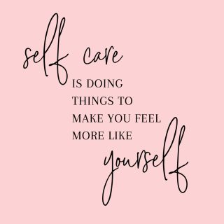So many people give specific lists of what self care is; however, I believe that self care depends on the person. What do you do that makes you feel more like yourself? Some people might go shopping while others might go to the gym. I personally like grabbing a book and curling up in a quiet area to read while I drink some coffee or a glass of wine. ⠀⠀⠀⠀⠀⠀⠀⠀⠀ ⠀⠀⠀⠀⠀⠀⠀⠀⠀ You decide what self care is for you. Does it make you feel better? Are you happier when you are done? Then you are on the right track for you and that is what matters.